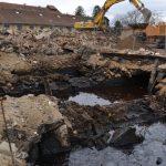 Odkryté podzemní jímky Cukrovar